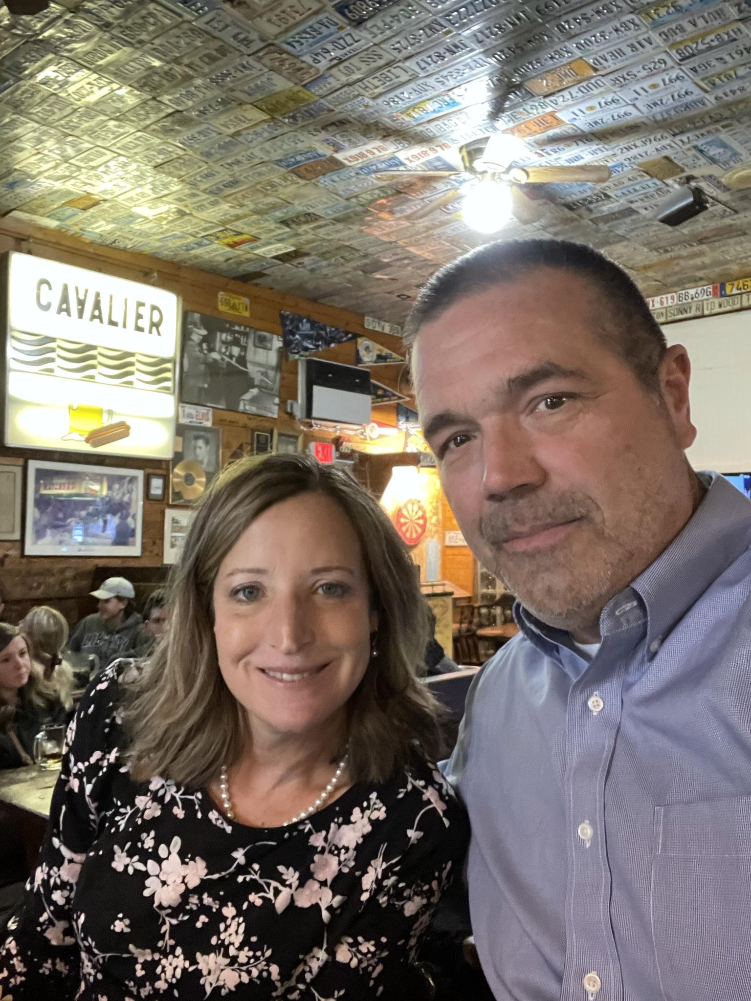 Eating at The Cavalier in Lynchburg, VA