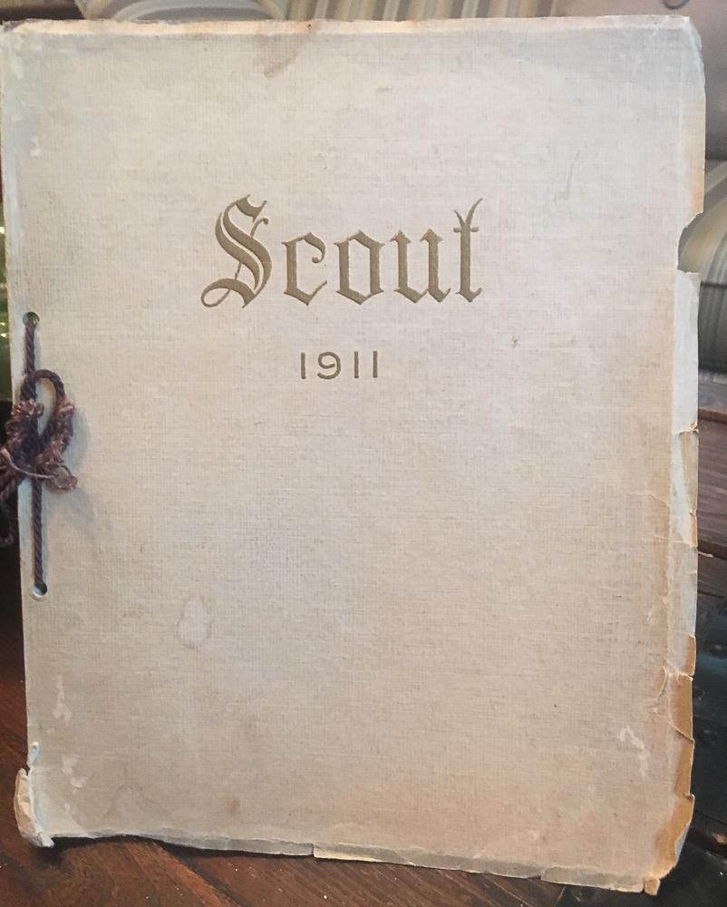 1911 Waynesboro High School, VA Scout Yearbook
