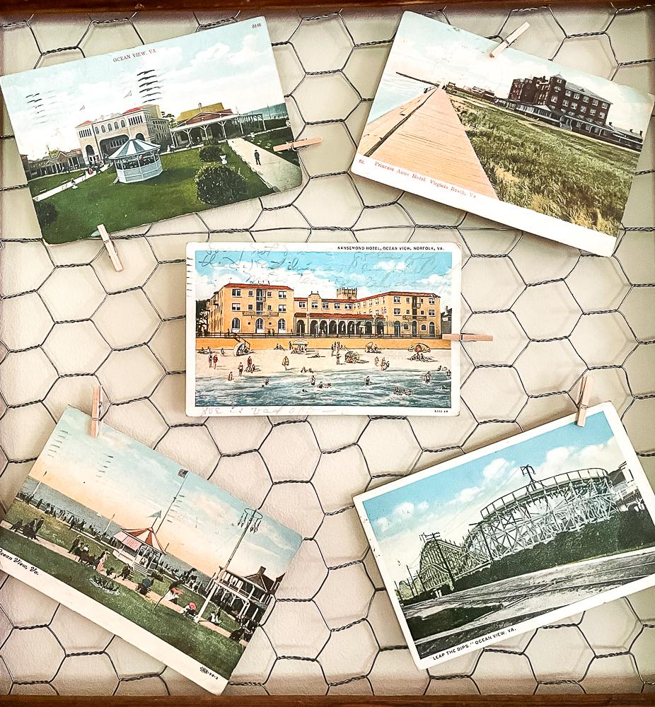 Vintage Virginia Beach Postcards
