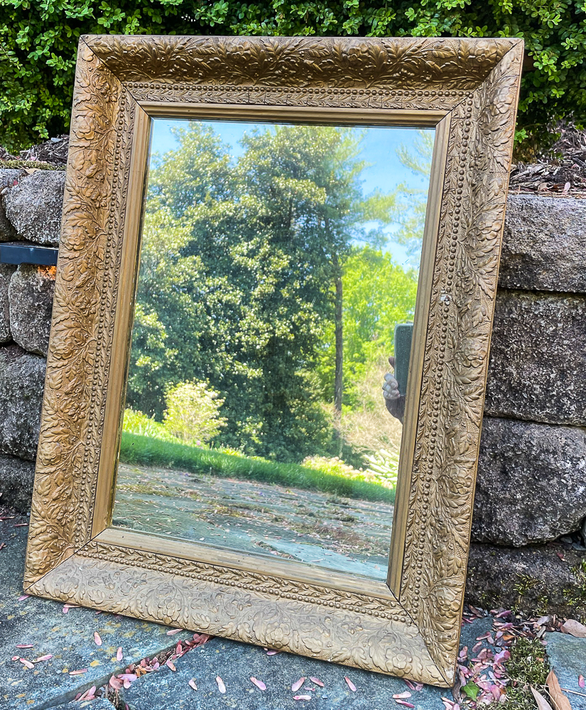 Antique Mirror with gold frame