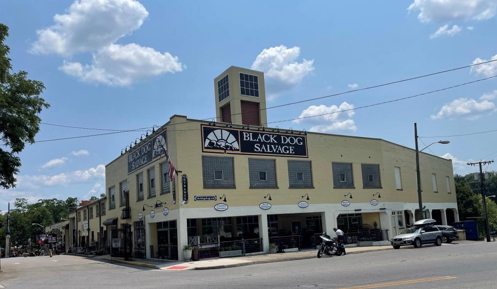 Black Dog Salvage in Roanoke, Virginia