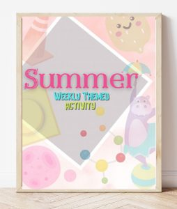Free Printable Summer Weekly Themed Activity