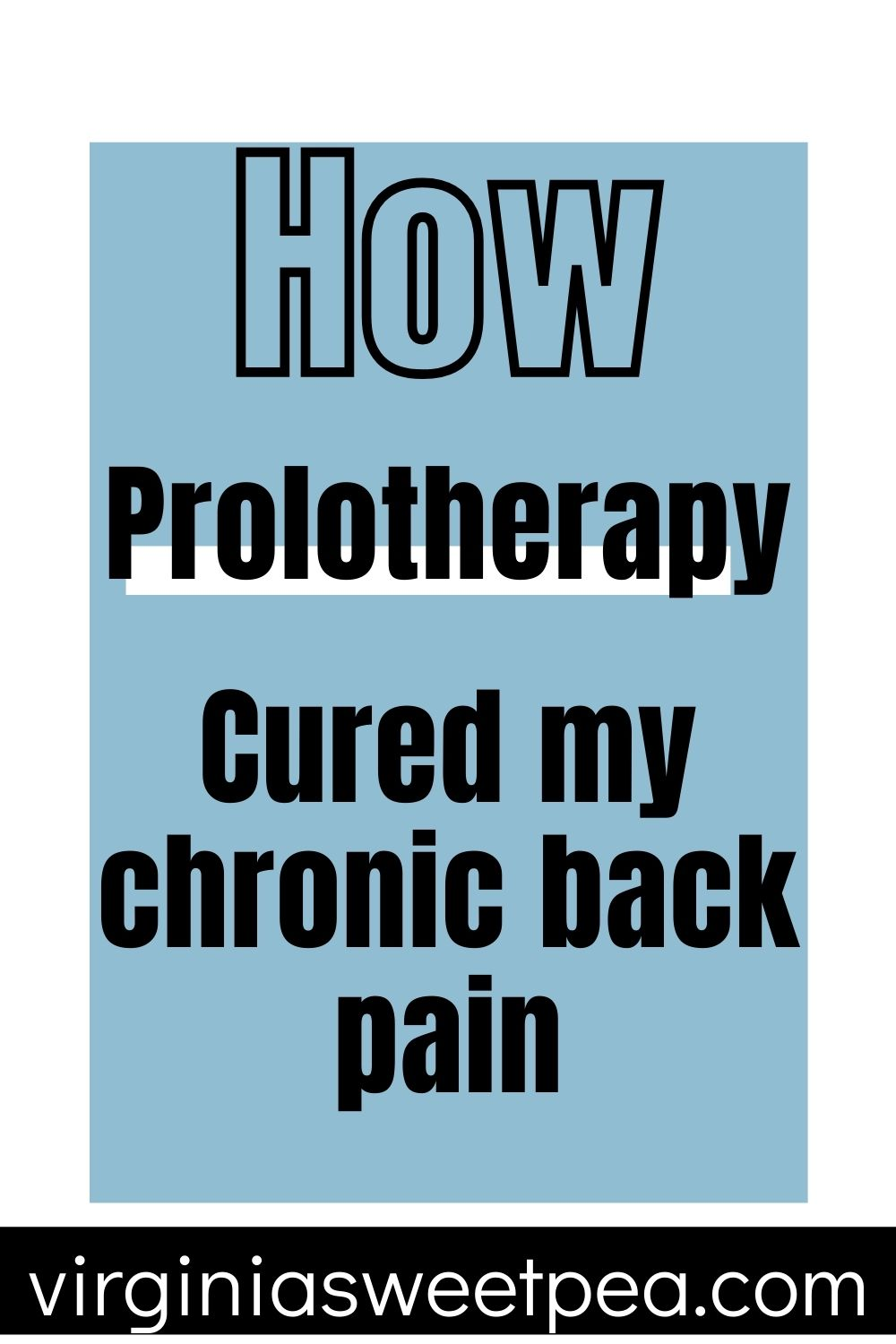 How Prolotherapy Cured My Chronic Back Pain