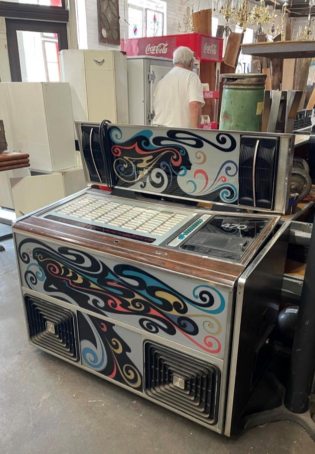 Jukebox for sale at Black Dog Salvage