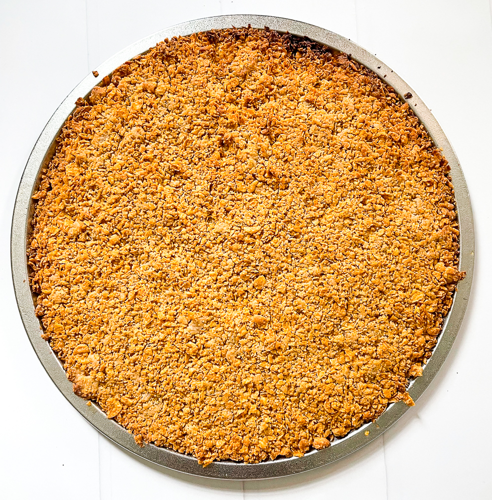 brown sugar cornflake crust