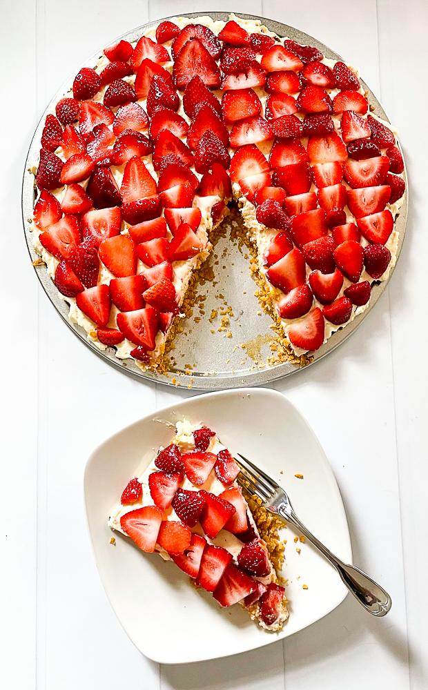 Strawberry Tart with Brown Sugar Crust
