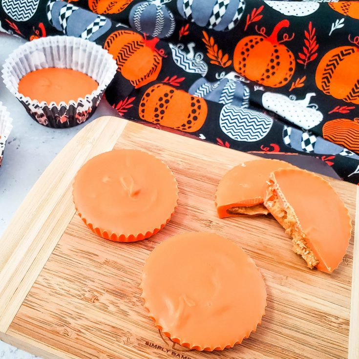 Easy Homemade Peanut Butter Cups for Fall