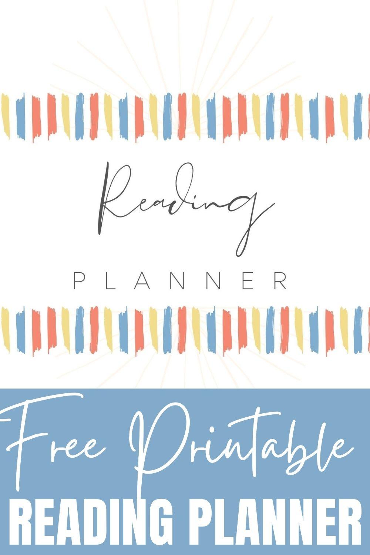 Free Printable Reading Planner