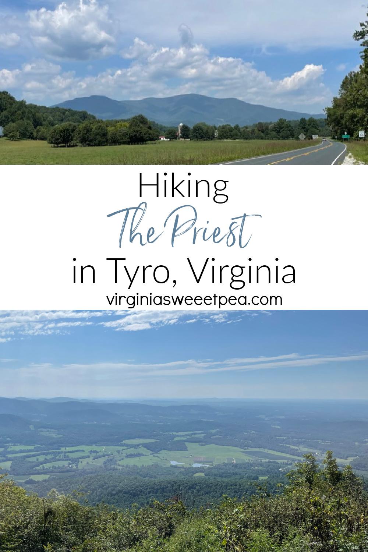 Hiking The Priest in Tyro, VA