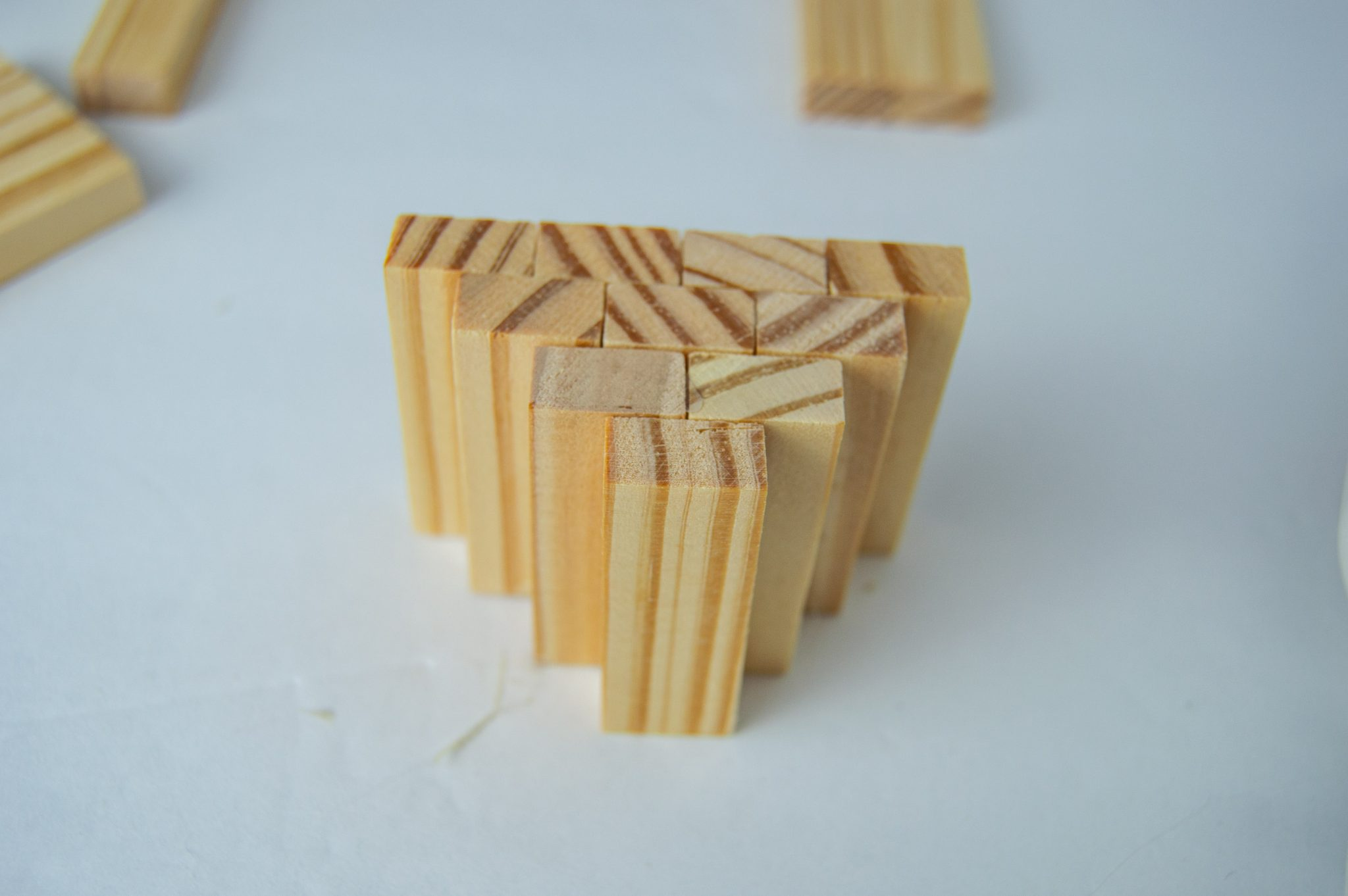 Tutorial to Make Dollar Tree Tumbling Tower Block Pumpkins
