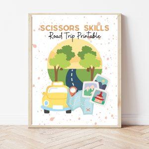 Scissor Skills Road Trip Printable