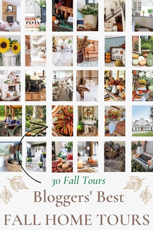 30 fall home decor tours
