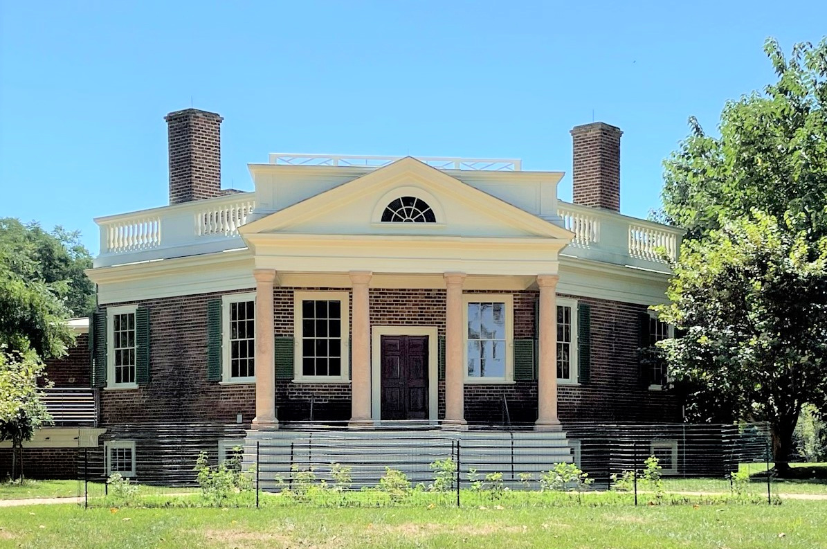 Front of Poplar Forest