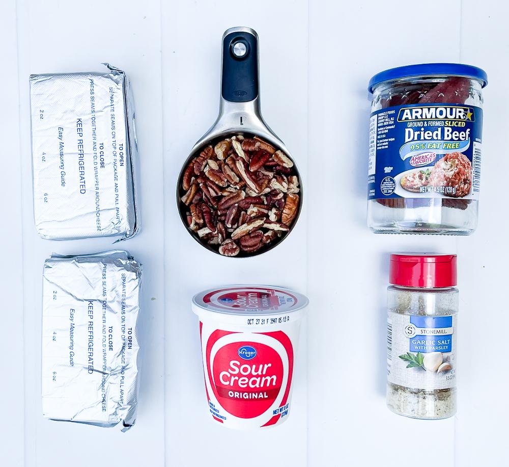 Hot Virginia Dip Ingredients