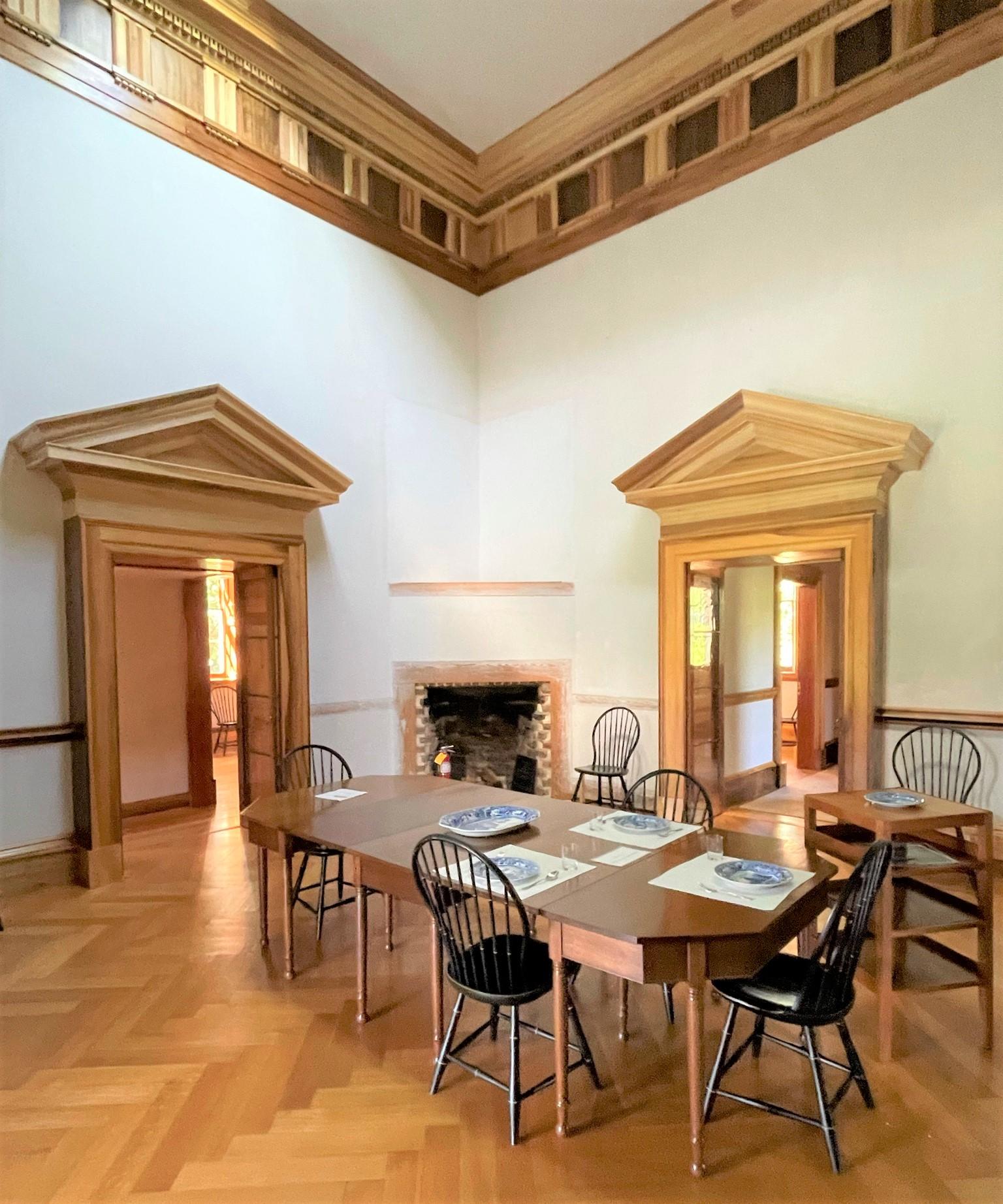 Poplar Forest Dining Room