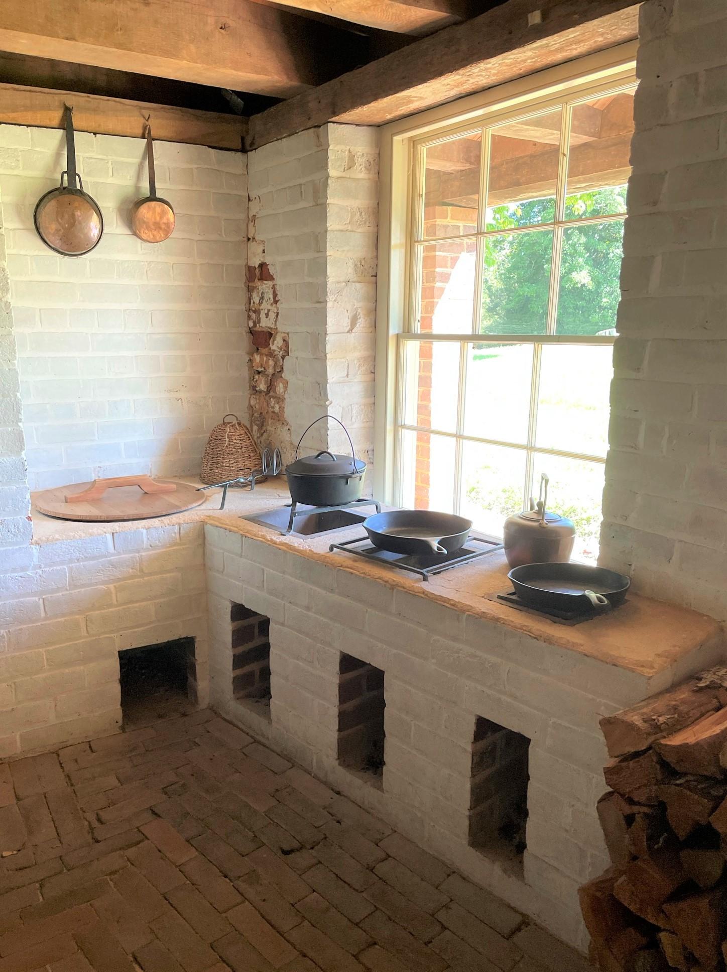 Poplar Forest Basement Kitchen