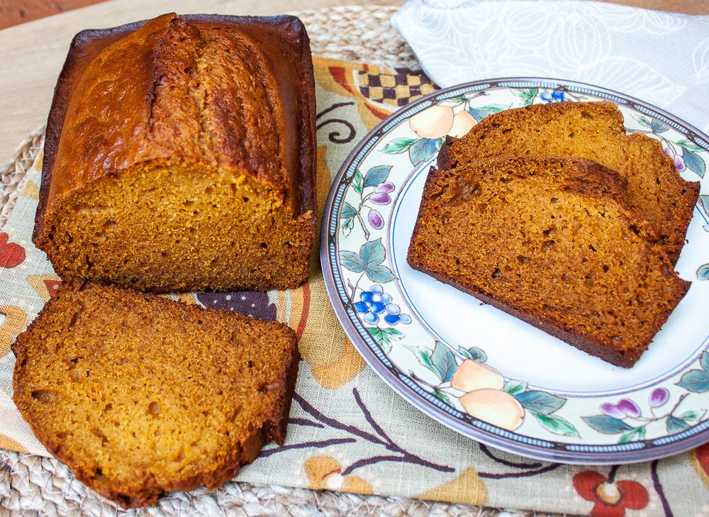 Pumpkin Honey Beer Bread