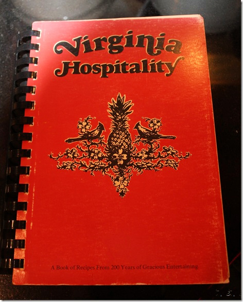 Virginia Hospitality Cookbook